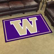 Washington Huskies 4' x 6' Area Rug
