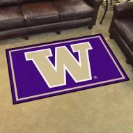 Washington Huskies 4' x 6' Area Rug