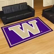 Washington Huskies 5' x 8' Area Rug