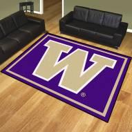 Washington Huskies 8' x 10' Area Rug