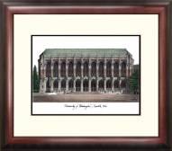 Washington Huskies Alumnus Framed Lithograph