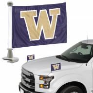 Washington Huskies Ambassador Hood & Trunk Car Flag
