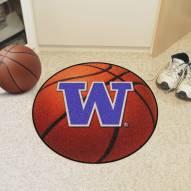 Washington Huskies Basketball Mat