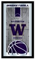 Washington Huskies Basketball Mirror