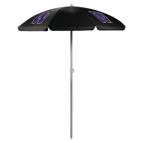 Washington Huskies Beach Umbrella