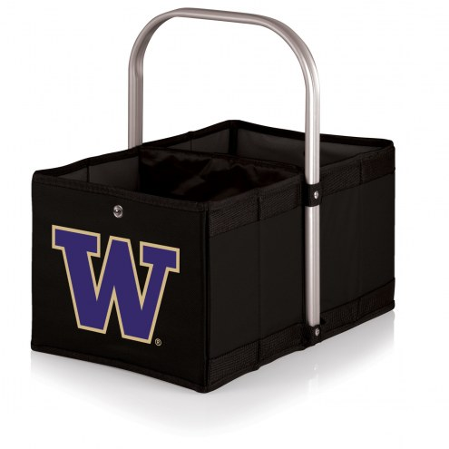 Washington Huskies Black Urban Picnic Basket