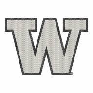 Washington Huskies Bling Car Emblem