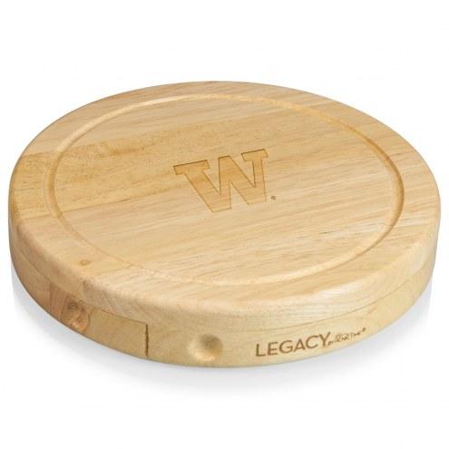 Washington Huskies Brie Cheese Board