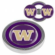 Washington Huskies Challenge Coin with 2 Ball Markers