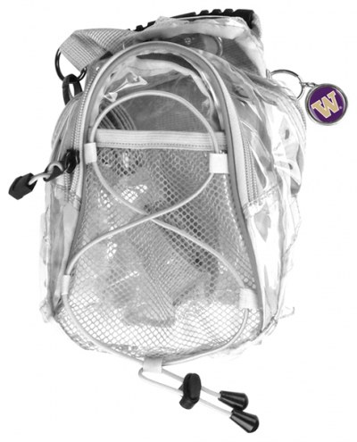 Washington Huskies Clear Event Day Pack