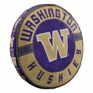 Washington Huskies Cloud Travel Pillow