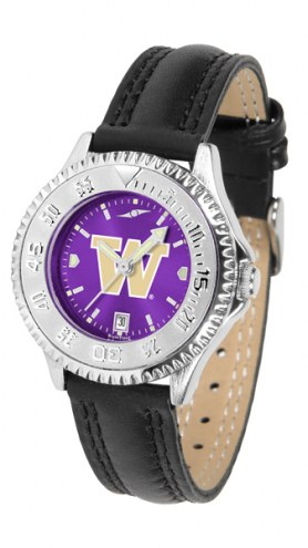 Washington Huskies Competitor AnoChrome Women's Watch