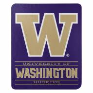 Washington Huskies Control Fleece Blanket