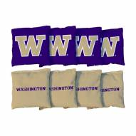 Washington Huskies Cornhole Bag Set