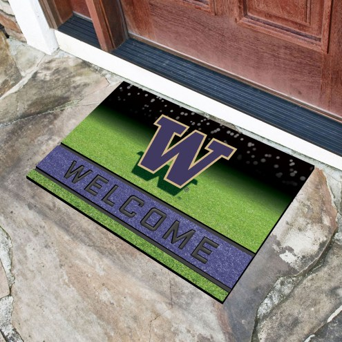Washington Huskies Crumb Rubber Door Mat