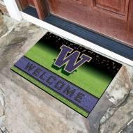 Washington Huskies Crumb Rubber Door Mat