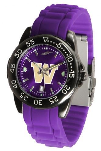 Washington Huskies Fantom Sport Silicone Men's Watch