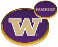 Washington Huskies Flip Coin