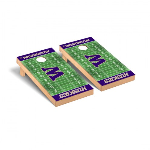 Washington Huskies Football Field Cornhole Game Set