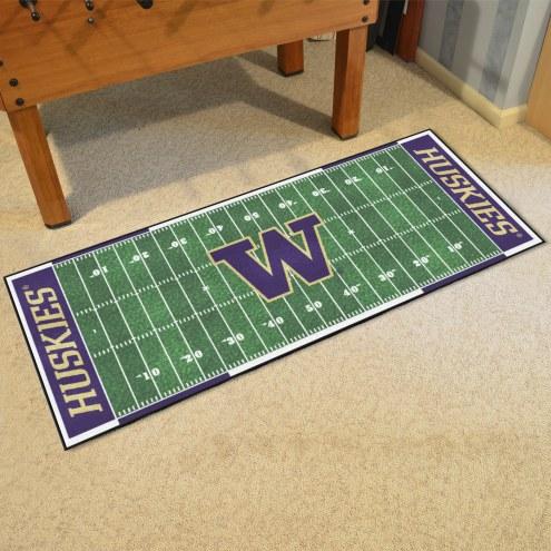 Washington Huskies Football Field Runner Rug