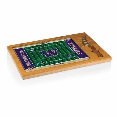 Washington Huskies Football Icon Cutting Board