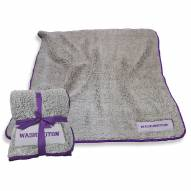 Washington Huskies Frosty Fleece Blanket
