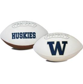 Washington Huskies Full Size Embroidered Signature Series Football