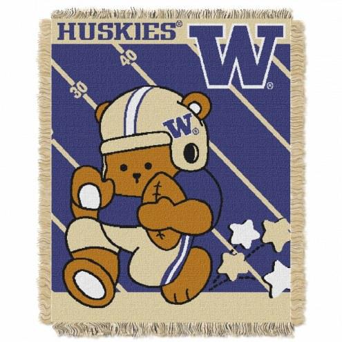 Washington Huskies Fullback Baby Blanket