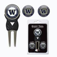 Washington Huskies Golf Divot Tool Pack