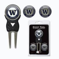 Washington Huskies Golf Divot Tool Pack
