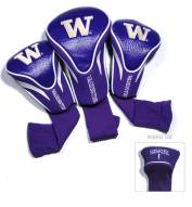 Washington Huskies Golf Headcovers - 3 Pack