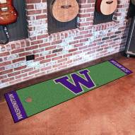 Washington Huskies Golf Putting Green Mat