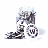 Washington Huskies 175 Golf Tee Jar