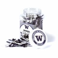 Washington Huskies 175 Golf Tee Jar