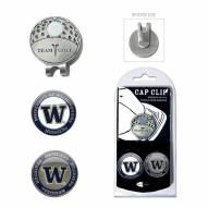 Washington Huskies Hat Clip & Marker Set