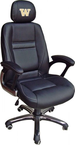 Washington Huskies Head Coach Office Chair