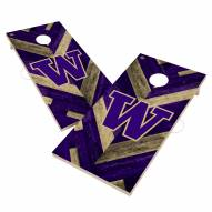 Washington Huskies Herringbone Cornhole Game Set