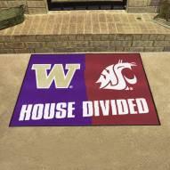 Washington Huskies/Washington State Cougars House Divided Mat