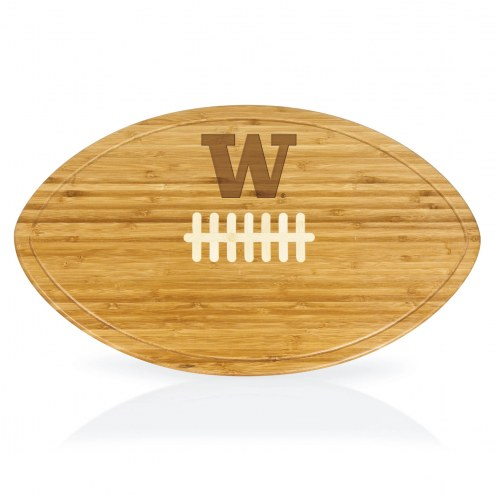Washington Huskies Kickoff Cutting Board