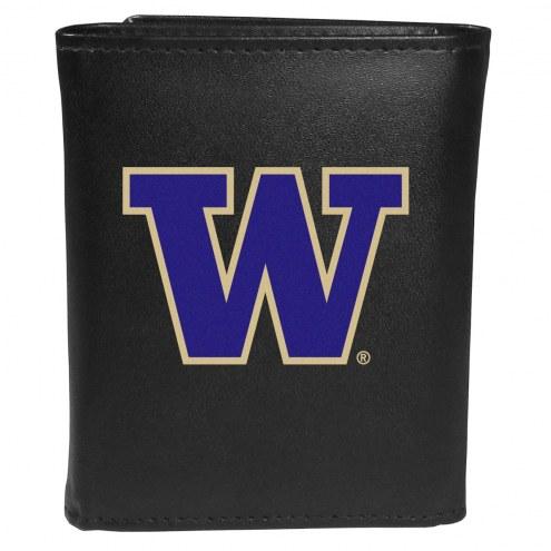 Washington Huskies Large Logo Tri-fold Wallet