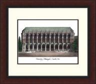 Washington Huskies Legacy Alumnus Framed Lithograph
