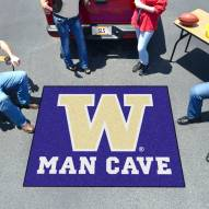 Washington Huskies Man Cave Tailgate Mat
