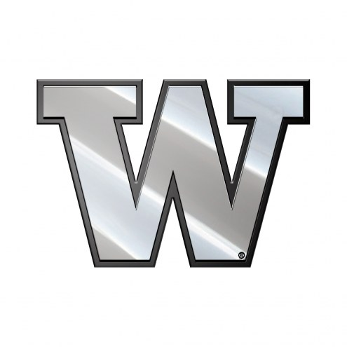 Washington Huskies Metal Car Emblem
