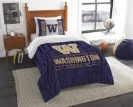 Washington Huskies Modern Take Twin Comforter Set