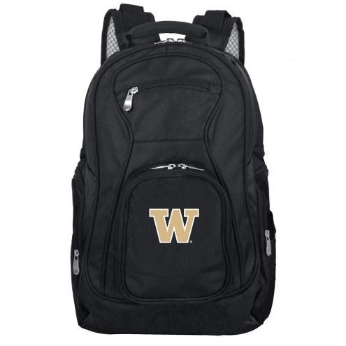 Washington Huskies Laptop Travel Backpack