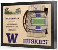 Washington Huskies 25-Layer StadiumViews 3D Wall Art