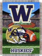 Washington Huskies NCAA Woven Tapestry Throw Blanket