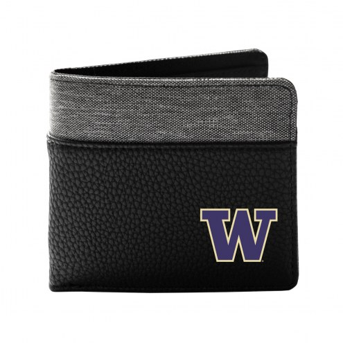 Washington Huskies Pebble Bi-Fold Wallet