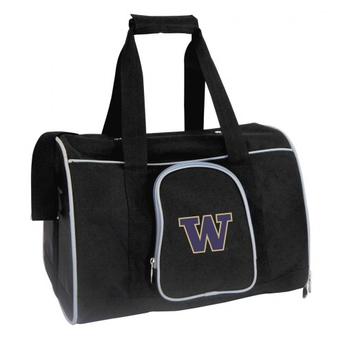 Washington Huskies Premium Pet Carrier Bag