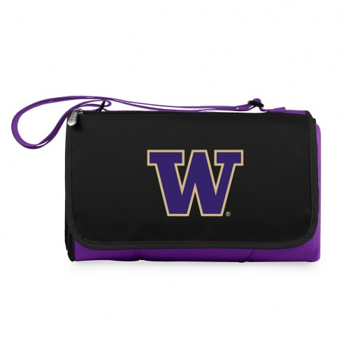 Washington Huskies Purple Blanket Tote